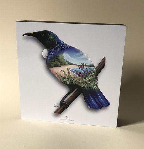 Sophie+Blokker+NZ+Tui+Bird+Art+Block  http://www.shopenzed.com/sophie-blokker-nz-tui-bird-art-block-xidp1363681.html