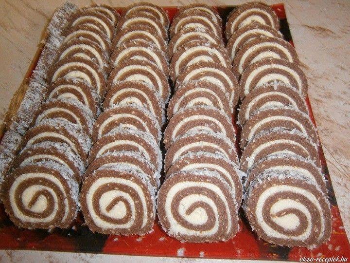 Hozzávalók:50 dkg darált háztartási keksz15 dkg cukor2,5 dkg kakaópor3 dl tej1 vanília cukor1 evőkanál rum aromaKrém:15 dkg Rama margarin15 dkg...