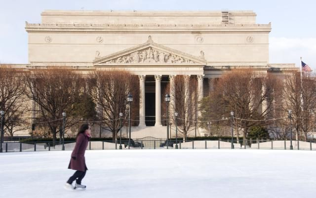 8 Outdoor Ice Skating Rinks in the Washington, DC Area