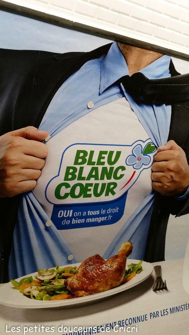 Les petites douceurs de Cricri - Recette Bleu Blanc Coeur et l'Oeuf croustillant aux mendiants et girolles de Frédéric Simonin