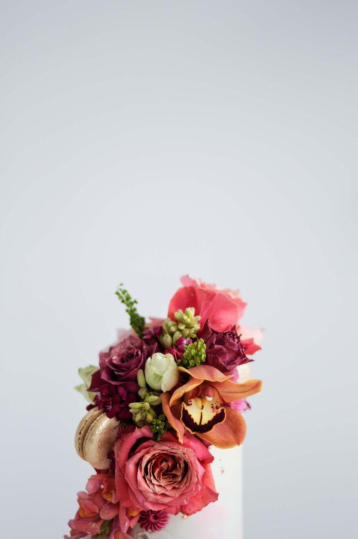 Floral Celebration Cake by LionHeart