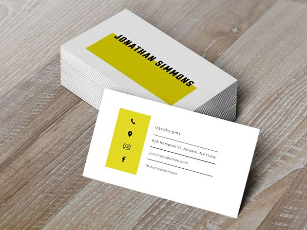 Free Simple Business Card Template Word Doc Psd Publisher Illustrator In 2020 Business Card Template Word Business Card Template Psd Simple Business Cards