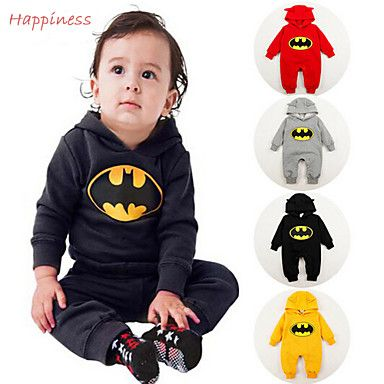 Boy's+Cotton/Polyester+Overall+&+Jumpsuit+,+Winter/Spring/Fall+Long+Sleeve+–+USD+$+16.99