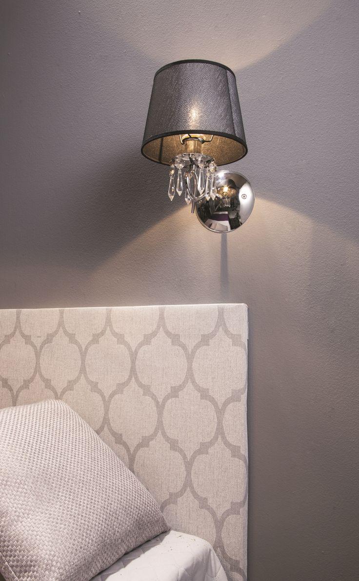 Nastrojowe światło jest dopełnieniem przytulnego wnętrza sypialni #style #bathroomdesign #bathroomdecor  #bathroom  #sypialnia #romantic #wnętrza  #interiordecor  #obipolska