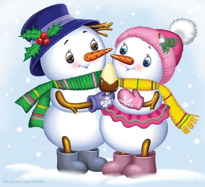 этом снеговик смешной картинки рисунок это