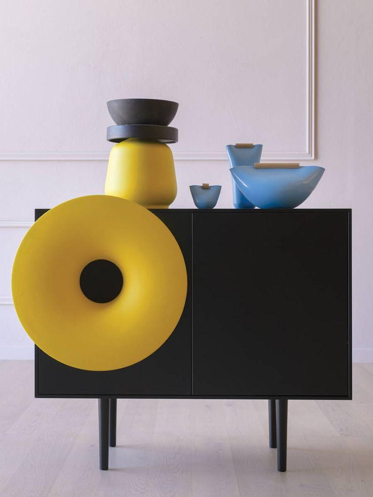 Bluetooth Music Cabinet with Trumpet-Shaped Speaker – Fubiz Media