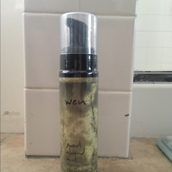Wen Hair Mousse 7.5 Fl oz Wen Sweet Almond Mint Nourishing Mousse . Brand New not opened Wen Other