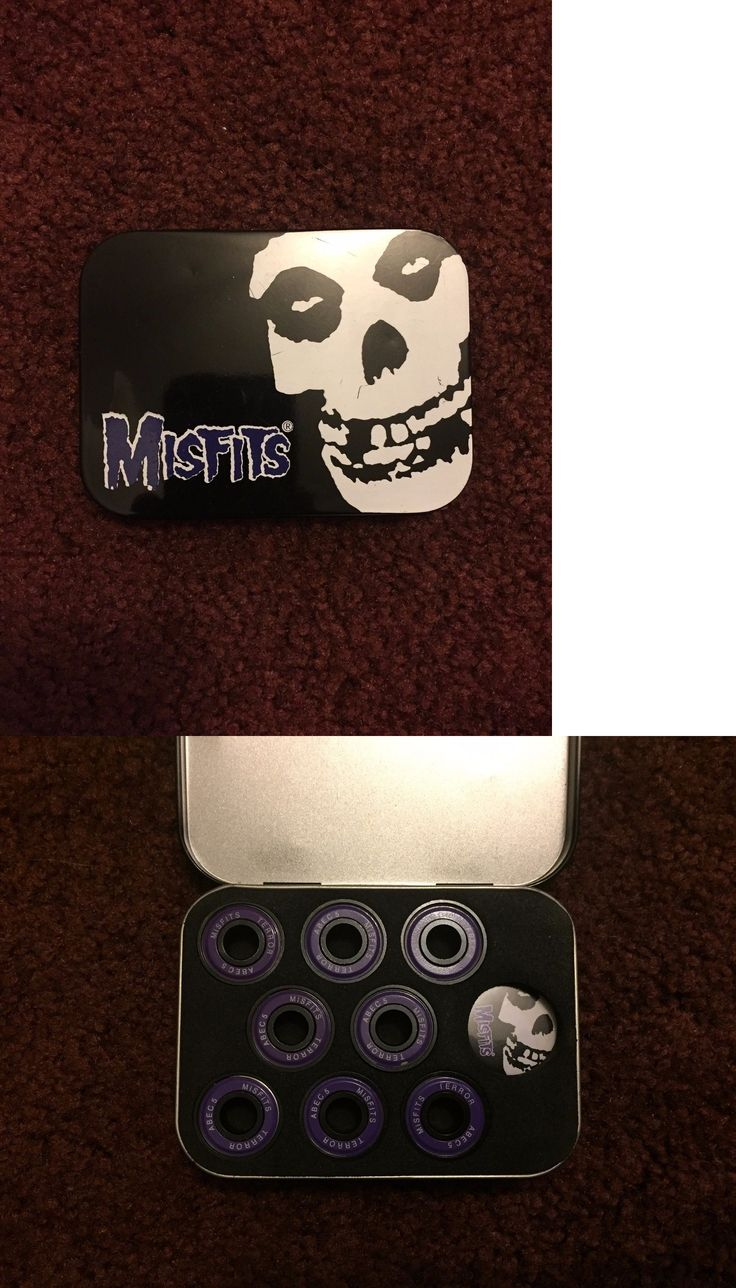 Bearings 36624: Misfits Abec 5 Skateboard Bearings - Collectible Tin And Pin -> BUY IT NOW ONLY: $39.95 on eBay!