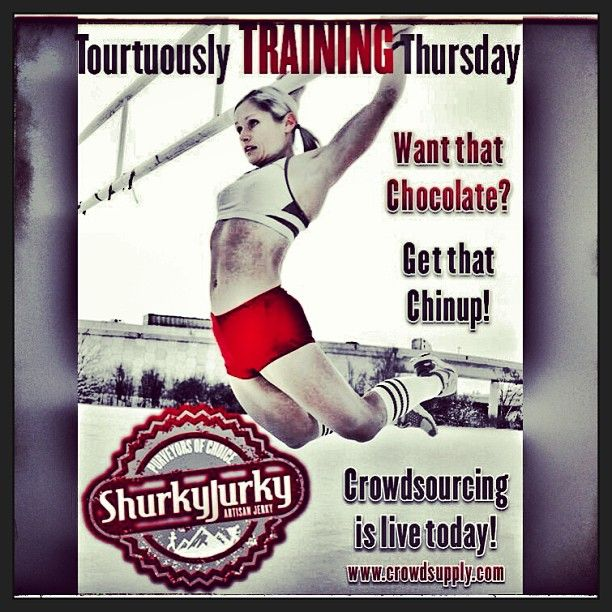 #TortuouslyTRAININGThursday Want that Chocolate? Get that Chinup! Crowdsourcing is live today! ONLY @ www.crowdsupply.com We Deeply Appreciate Your Support! Thank you. #shurkyjurky #paleo #foodporn #believe #crossfit #WOD #weightlifting #bodybuilding #portland #seattle #oregon #colorado #nyc #brooklyn #freshfood #eatfresh #eatclean #cleaneating #healthyeating #craftbeer #craftbrew #startup #entrepreneur #crossfitgames #trainhard #crossfitgirls #fitness #fitspo #voodoodonuts -