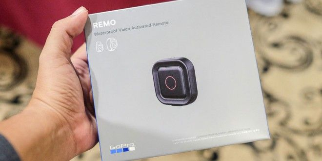 Waterproof GoPro Remo Voice activated Remote control announced
