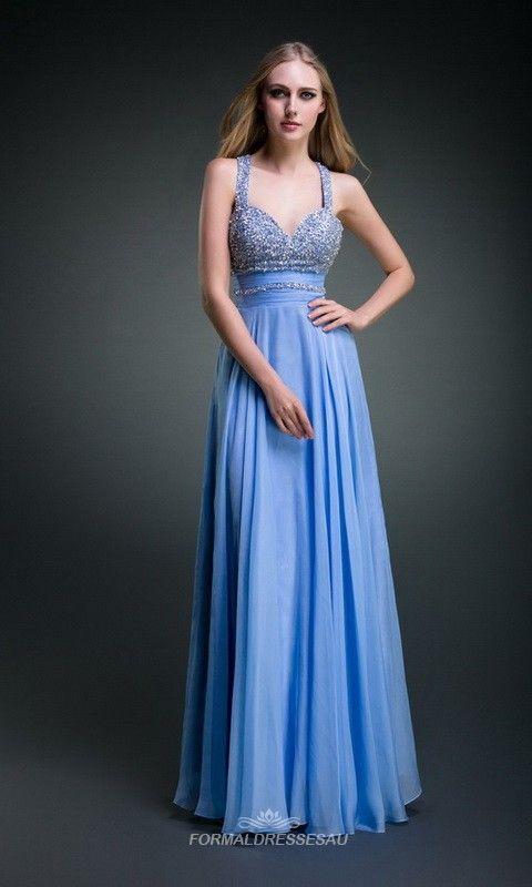 Cheap Gorgeous Chiffon Floor Length Formal Dresses FDA0132