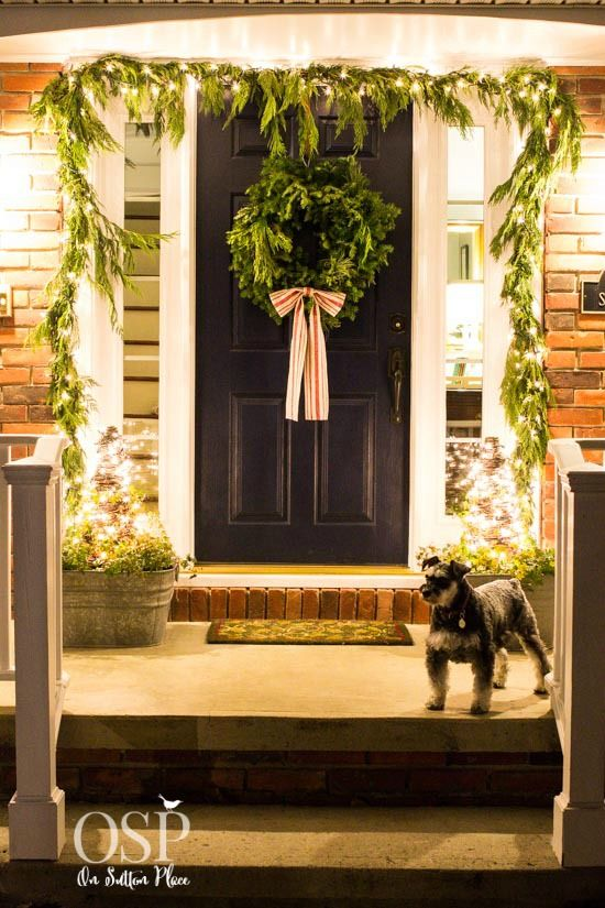 171 best christmas lights ideas and more images on pinterest merry easy and inexpensive diy christmas porch decor ideas that anyone can do aloadofball Gallery