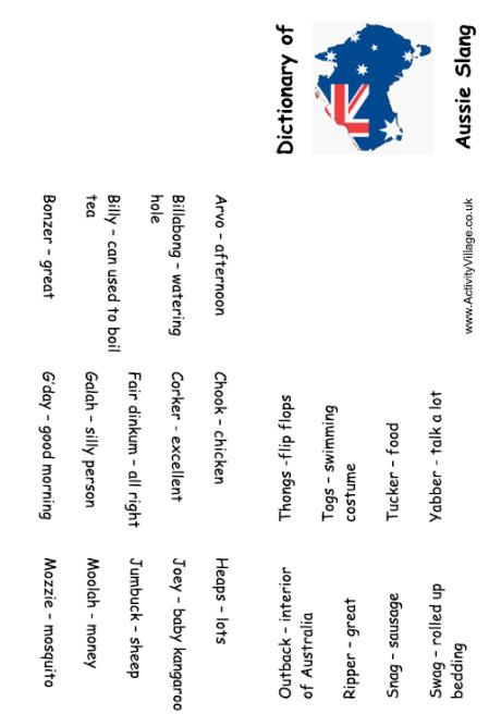 us slang dictionary pdf