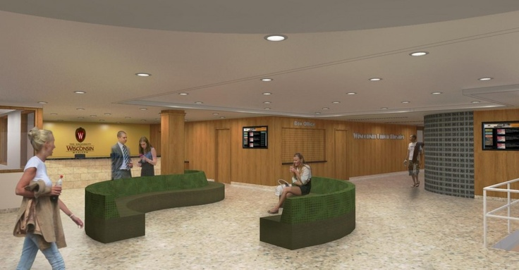interior design uw madison - University of Wisconsin Memorial Union Phase I Interior Designs ...
