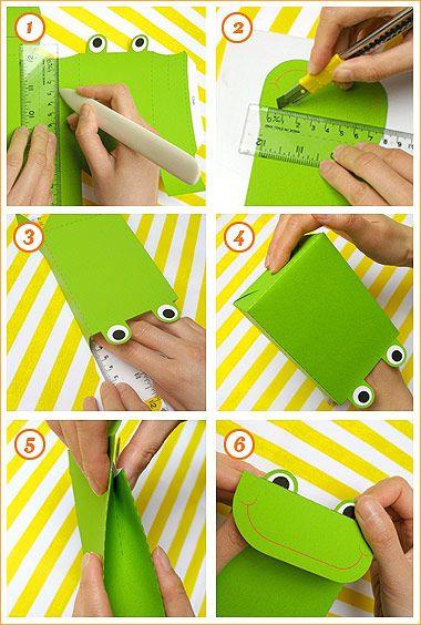 Printable Frog Party Favor Bags - Mr Printables