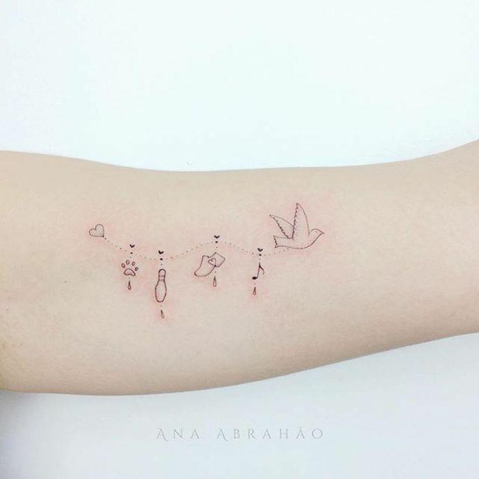 1001 Ideas De Tatuajes Finos Para Mujer Que Inspiran Tatuajes