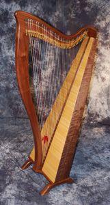 The HG Phoenix Celtic Folk Harp