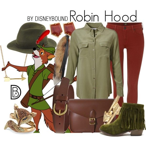 Disney Bound - Robin Hood (RIP Brian Bedford)