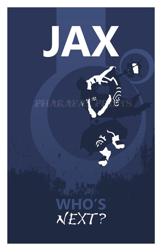 Jax League of Legends Print by pharafax on Etsy, $16.00