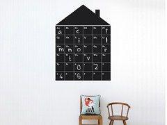 Vinyl Kids wall sticker ABC HOUSE - ferm LIVING