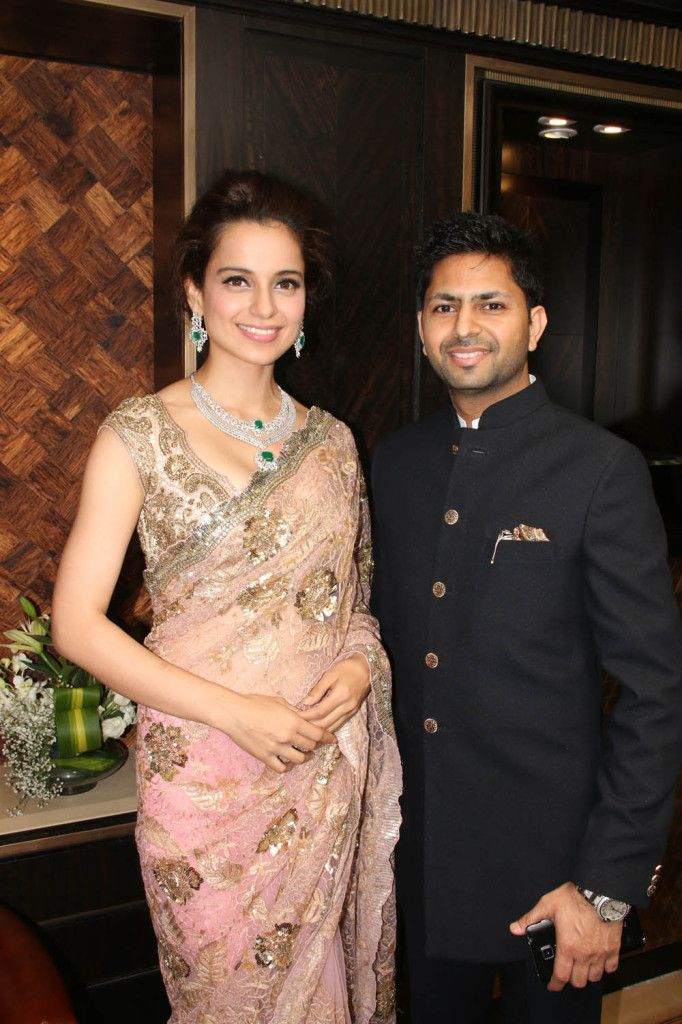 Actress Kangana Ranaut and  Praveen Goel CMD SUNAR  set a new benchmark for jewels & Ornaments with their latest land_