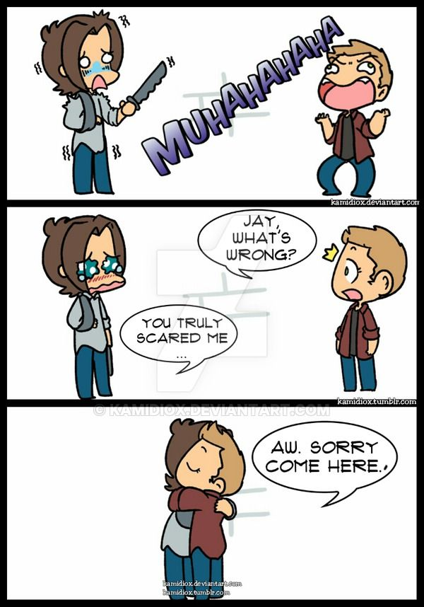 JtoJ: Gag Reel Season 10 by KamiDiox.deviantart.com on @DeviantArt