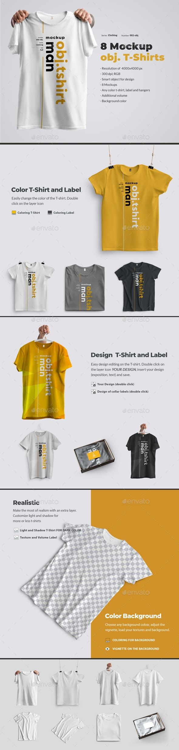 Download 8 Mockups T Shirts On A Hanger In Hands And In A Box Clothing Mockup Shirt Mockup Shirt Designs