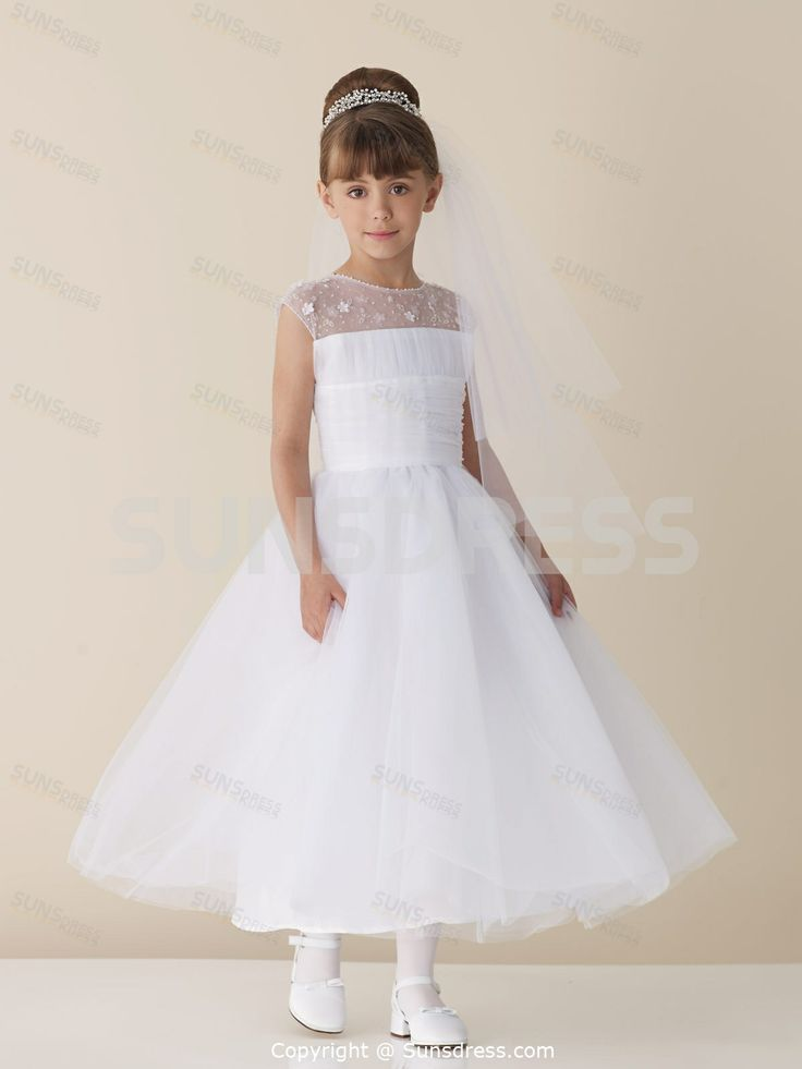 1000  images about Flower Girl Dresses ❈1 on Pinterest  Satin ...