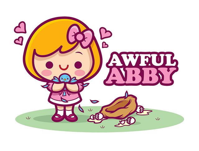 Awful Abby...so amazing: Kawaii Aw, Aw Abby So, Abs, Abby So Amazing, Jerrod Maruyama, Photo Shared, Awesomeart 03, Cartoon Prints, Freelance Illustrations