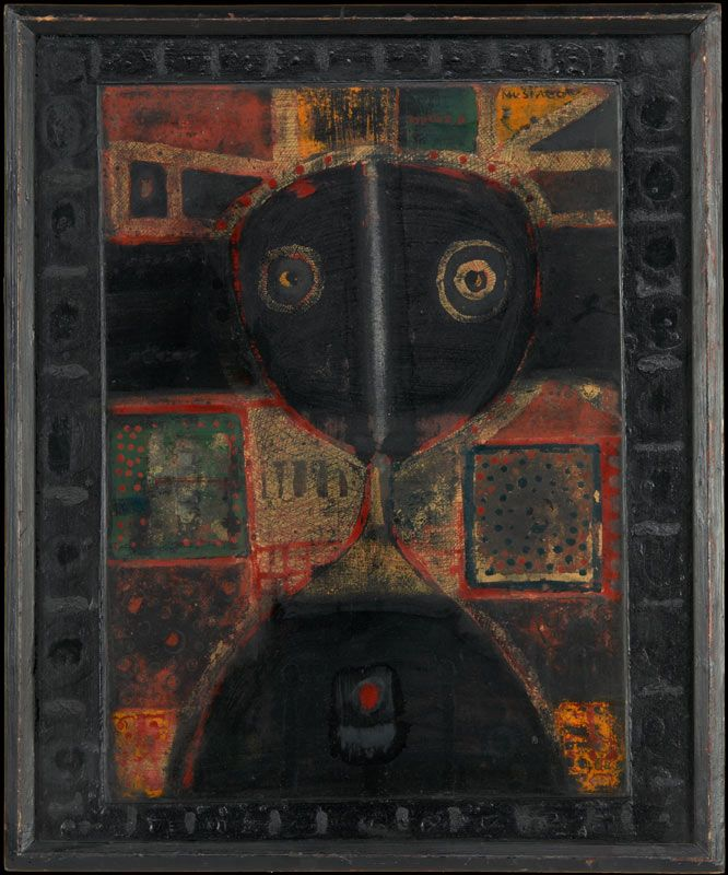 """Malarstwo - Cykl """"Epitafium"""" - Henryk Musiałowicz"""