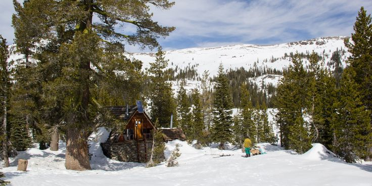Peter Grubb Ski Hut Outdoor Project in 2019 Sledding