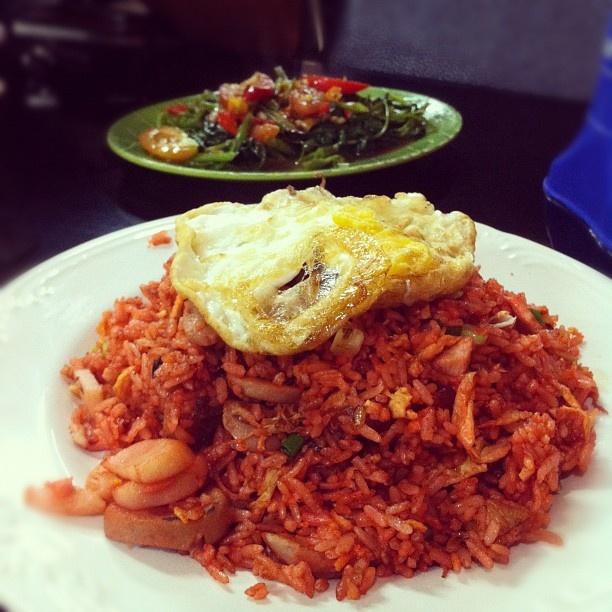 Nasi goreng merah, nyammm... #maincourse #lunch  #webstagram