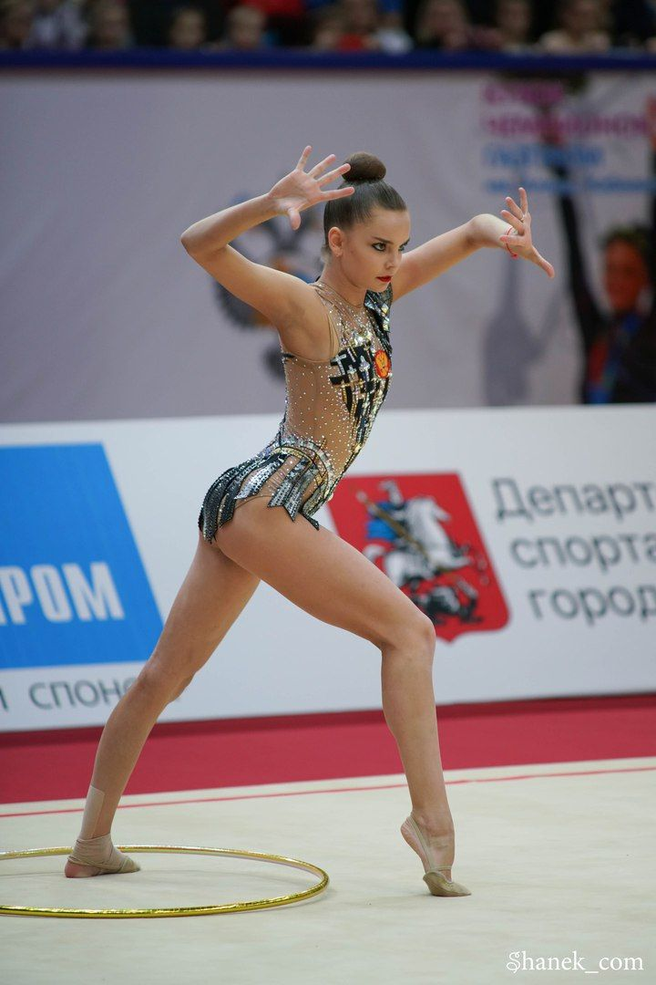 Dina Averina (Russia) won GOLD in hoop finals at Grand Prix (Moscow) 2018