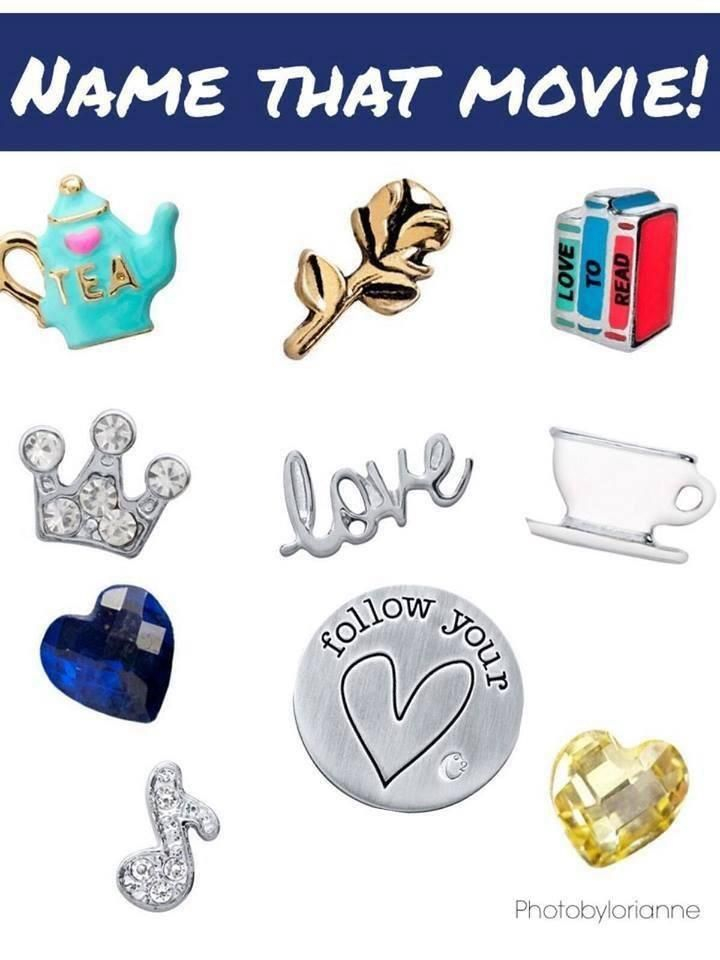 Origami Owl Name That Movie! game. Answer: Beauty And The Beast http://www.facebook.com/thenewlocket