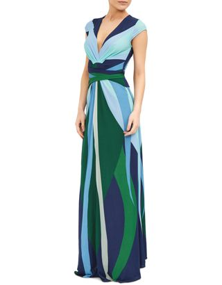 Long navy dress monsoon definition