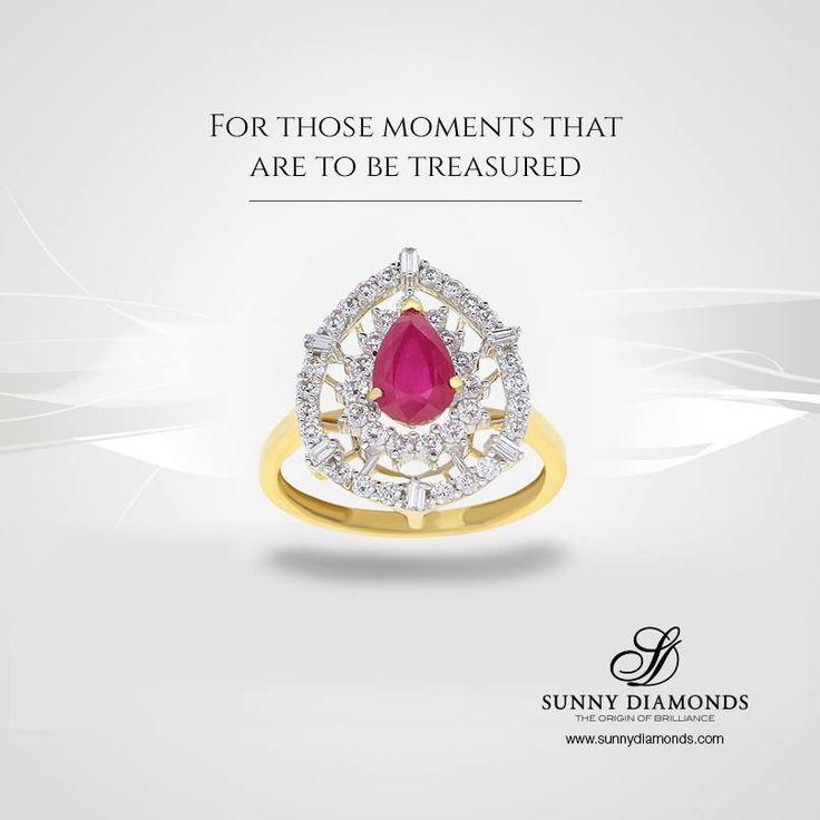 Elegant diamond rings.