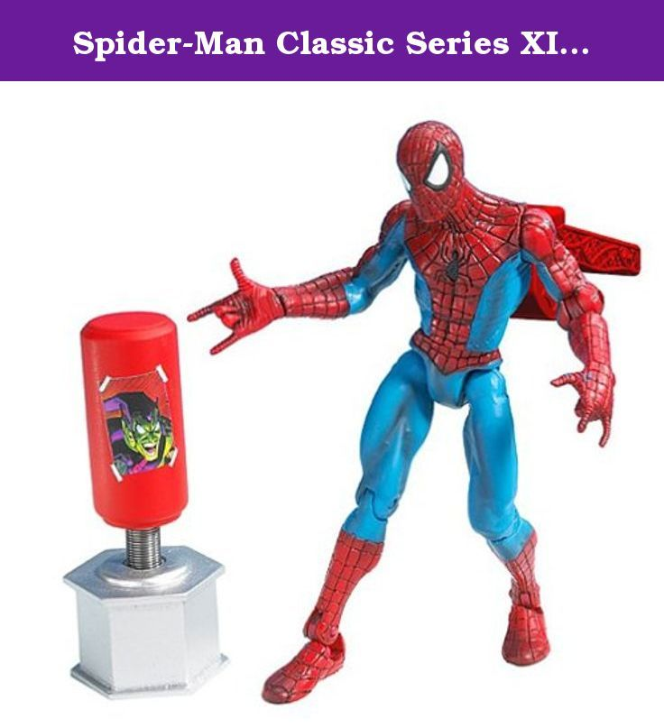 Spider-Man Classic Series XI Figure: Triple Threat Spiderman with Propeller Launching Action. Spider-Man Classic Series XI Figure: Triple Threat Spiderman with Propeller Launching Action.