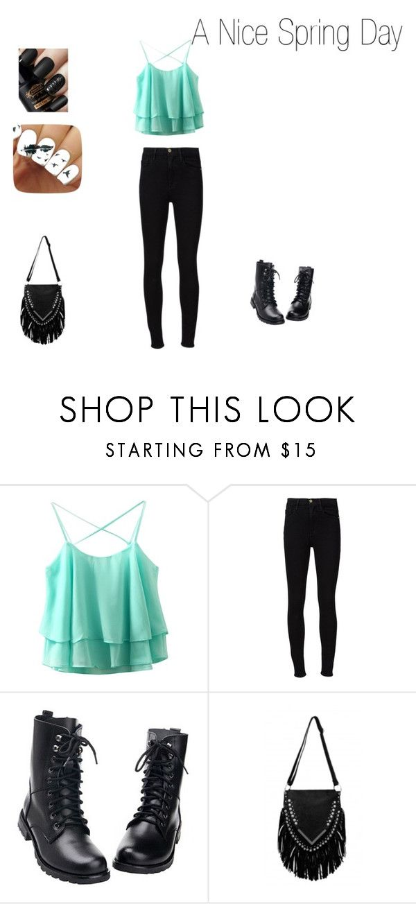 """""""A Nice Spring Day"""" by chloejmo ❤ liked on Polyvore featuring Frame Denim"""