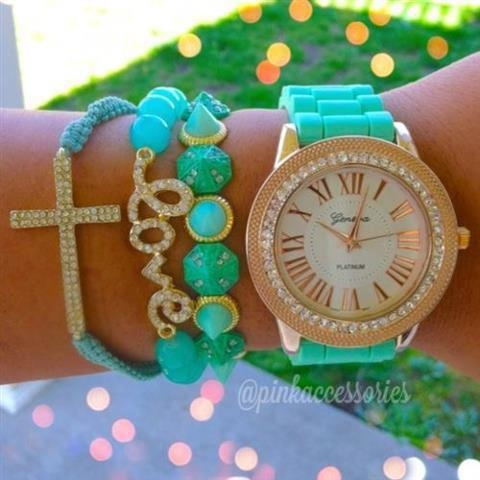 Great looking watch and bracelets