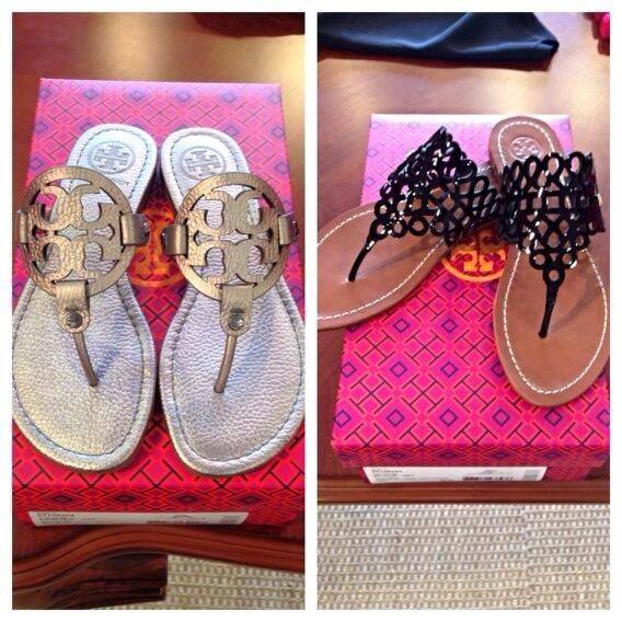 New Tory Burch sandals