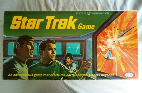 Vintage Original Star Trek Board Game by Ideal circa by KatsKitsch, $69.00