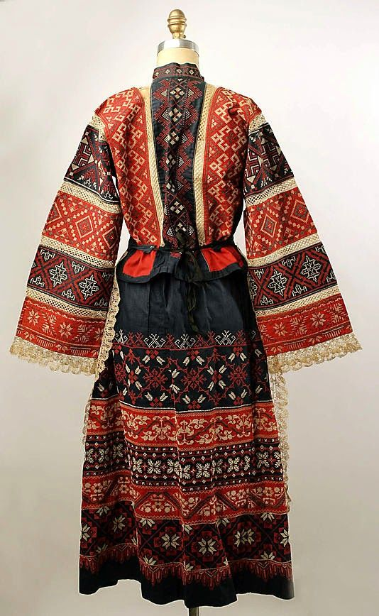 Russian Town Costume (FolkCostume&Embroidery)