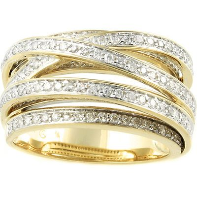 48 best Criss Cross Diamond Rings images on Pinterest Jewelry