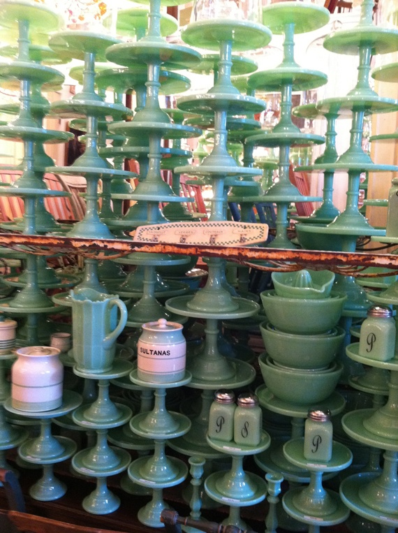 Brown's Hardware in Venice, CA via Good Bones Great Pieces. I'm having a fit over the salt & pepper shakers.