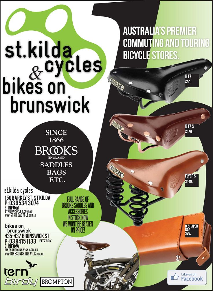 St Kilda Cycles Advert for Print #skmatic Skmatic Graphic Communication - Skmatic.net