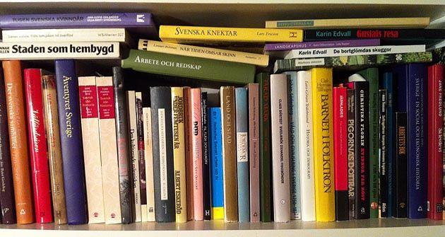 Böcker för släktforskare