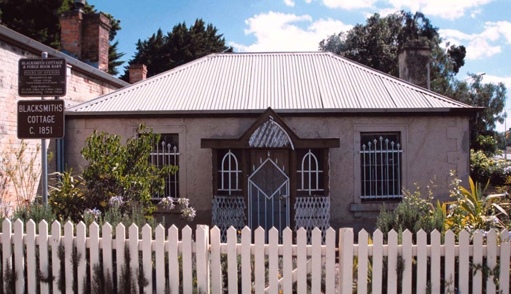 Bacchus Marsh Built in 1851 the blacksmith and wheelwright's cottage was in operation from 1851 until 1940.
