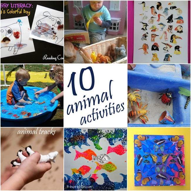 10 Animal Activities on It's Playtime!