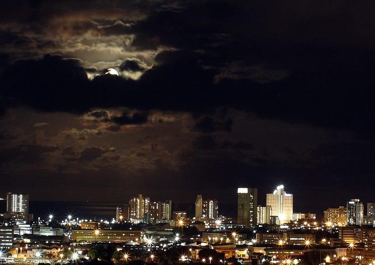 Durban by night