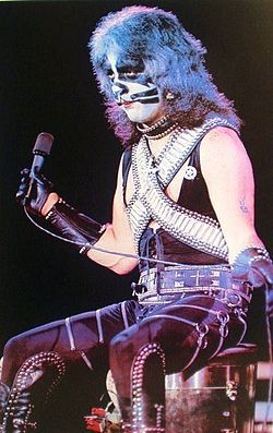 1977-78. Peter Criss poster.. He sings the song Beth center stage .. I still have this poster..